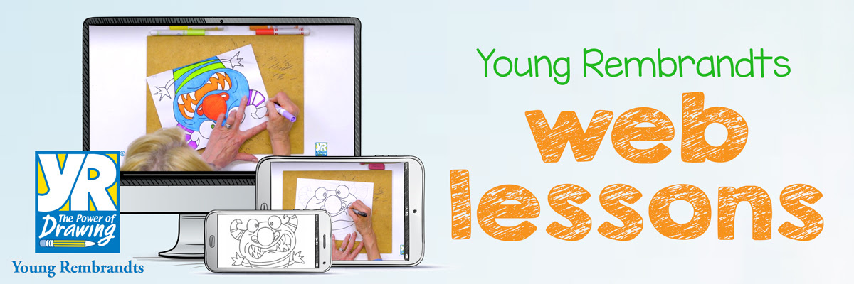 Young Rembrandts Web Drawings Logo