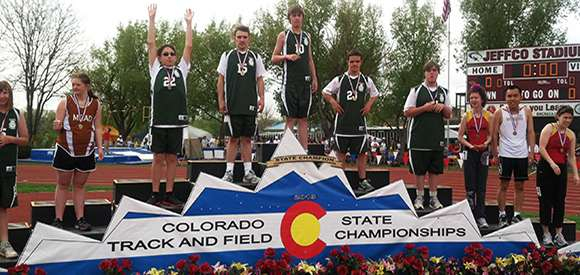 Special Needs Winners at Colorado State Track and Field Championships