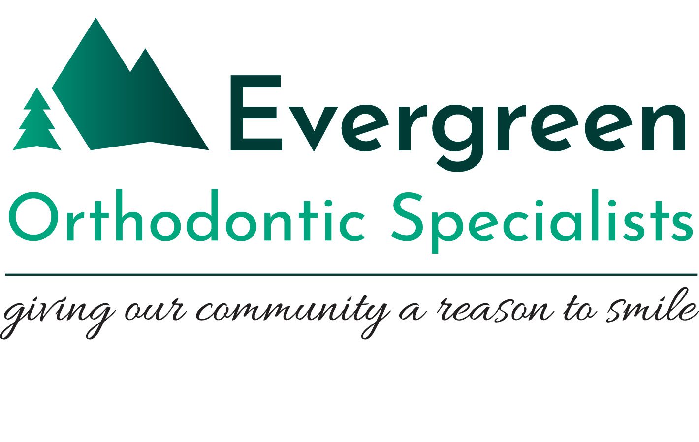 Evergreen Orthodontics Specialists logo